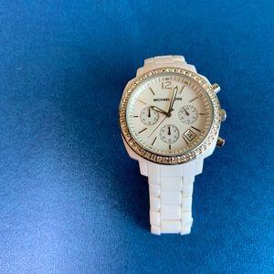 Michael Kors Watch in White